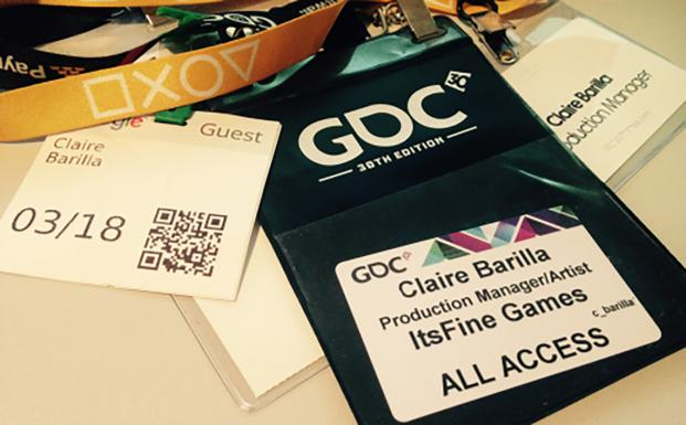 Game developers conference pass
