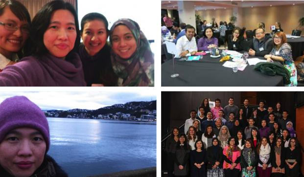 Collage of an International Student's experience in Wellington