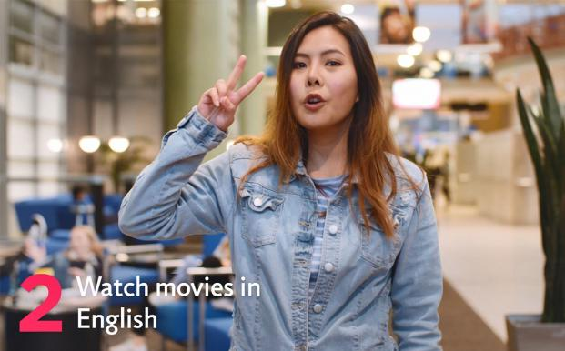 Sunny's 2nd tip for learning English in New Zealand is to watch movies in English
