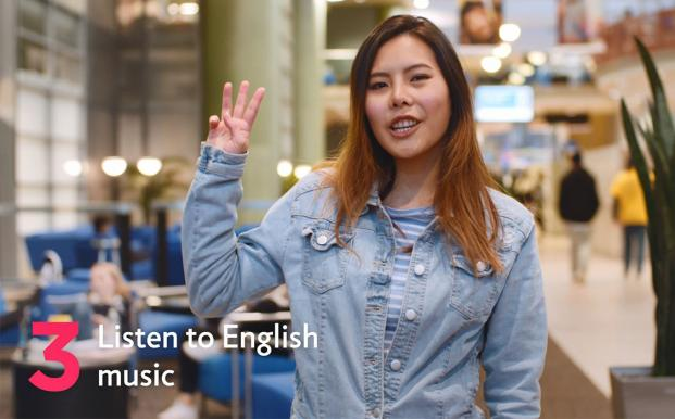 Sunny's 3rd tip for learning English in New Zealand is to listen to English music