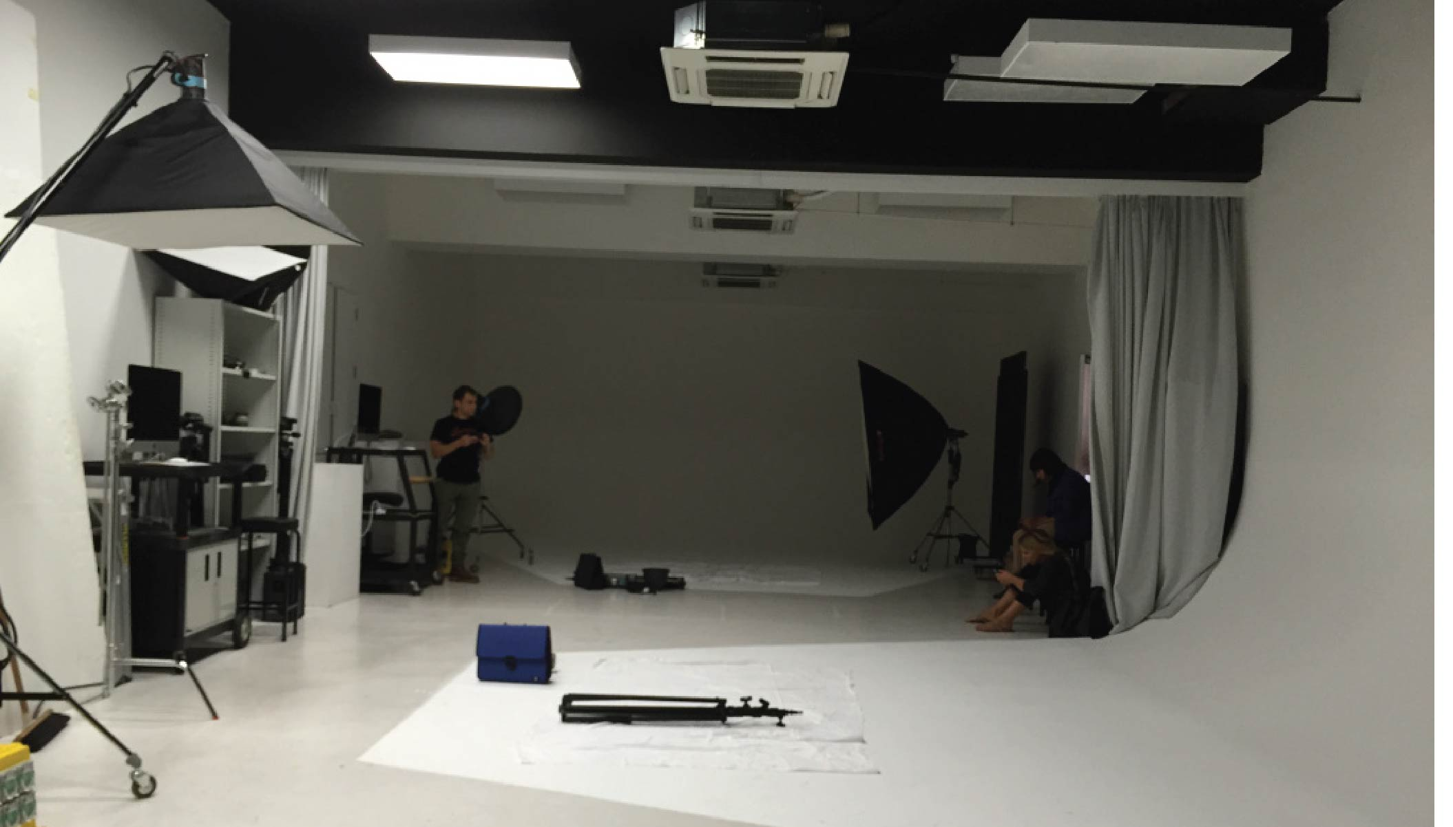 AUT's photography studio