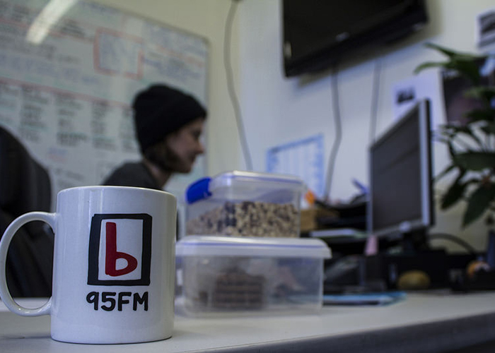 Volunteer at 95bFM Radio Station