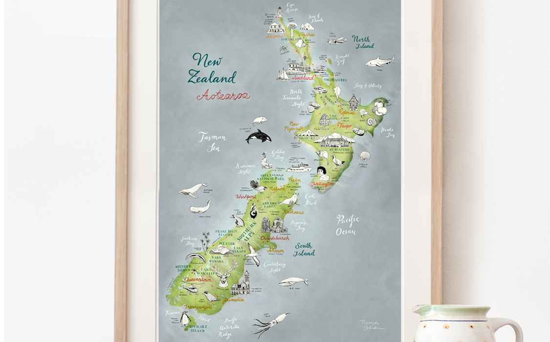 New Zealand On The Map.Getting New Zealand On The Map Study In New Zealand