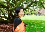 Chinese international student Weilian Du graduates from university in New Zealand