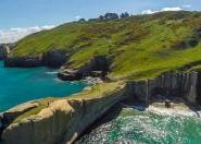 Tunnel beach, Dunedin, New Zealand