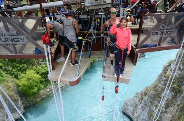 Joanne Lee From Gap Year International Student Bungy 621x410