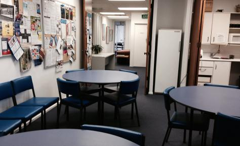 LSI Auckland level 1 students room