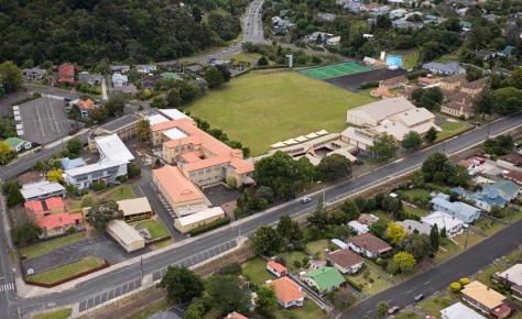 Whangarei Girls High School Aerial View