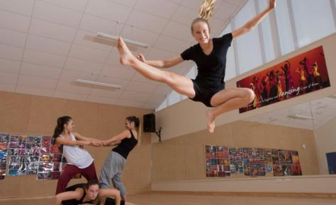 Whangarei Girls High School Dance Studio