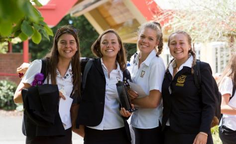 Whangarei Girls High School Students